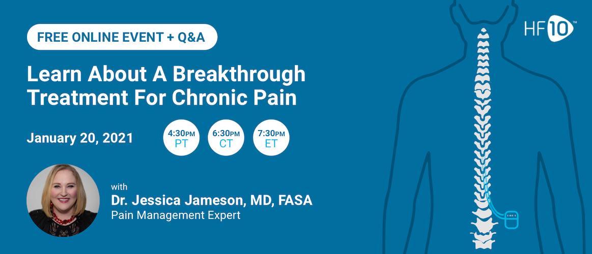 Learn About A Breakthrough Treatment for Chronic Pain